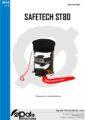 Icon of Safetech ST80 Bedienungsanleitung EN