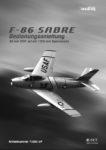 Icon of Bedienungsanleitung F-86 Sabre