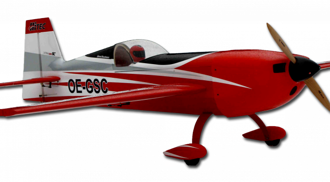 GBmodels Extra 330SC 2.3 weiss/rot