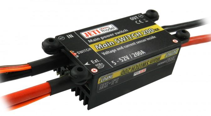 JETI Main Switch 200