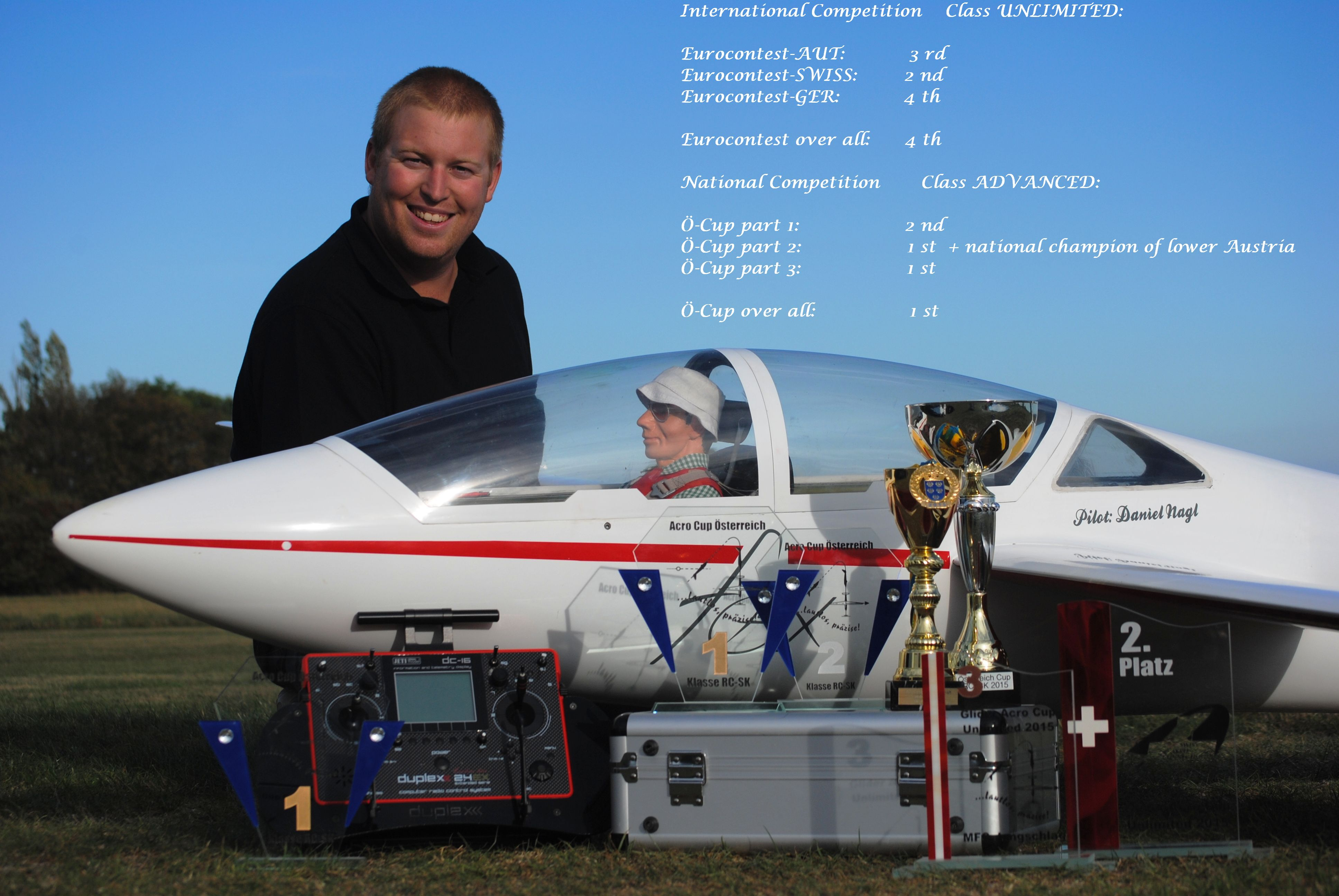 Daniel Nagl : Pilot