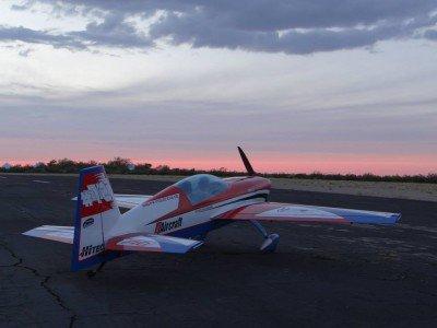 Gernot's Extra im Sonnenuntergang von Arizona