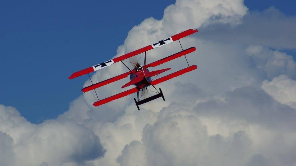 Gernot mit Fokker