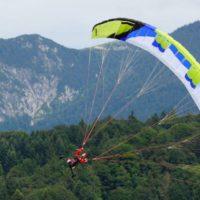 Opale Para Glider mit Trike