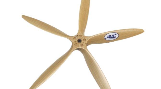 Fiala 5-Blatt Propeller