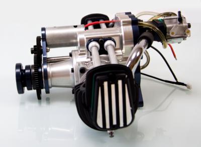 Fiala 140cc Boxermotor mit Starter