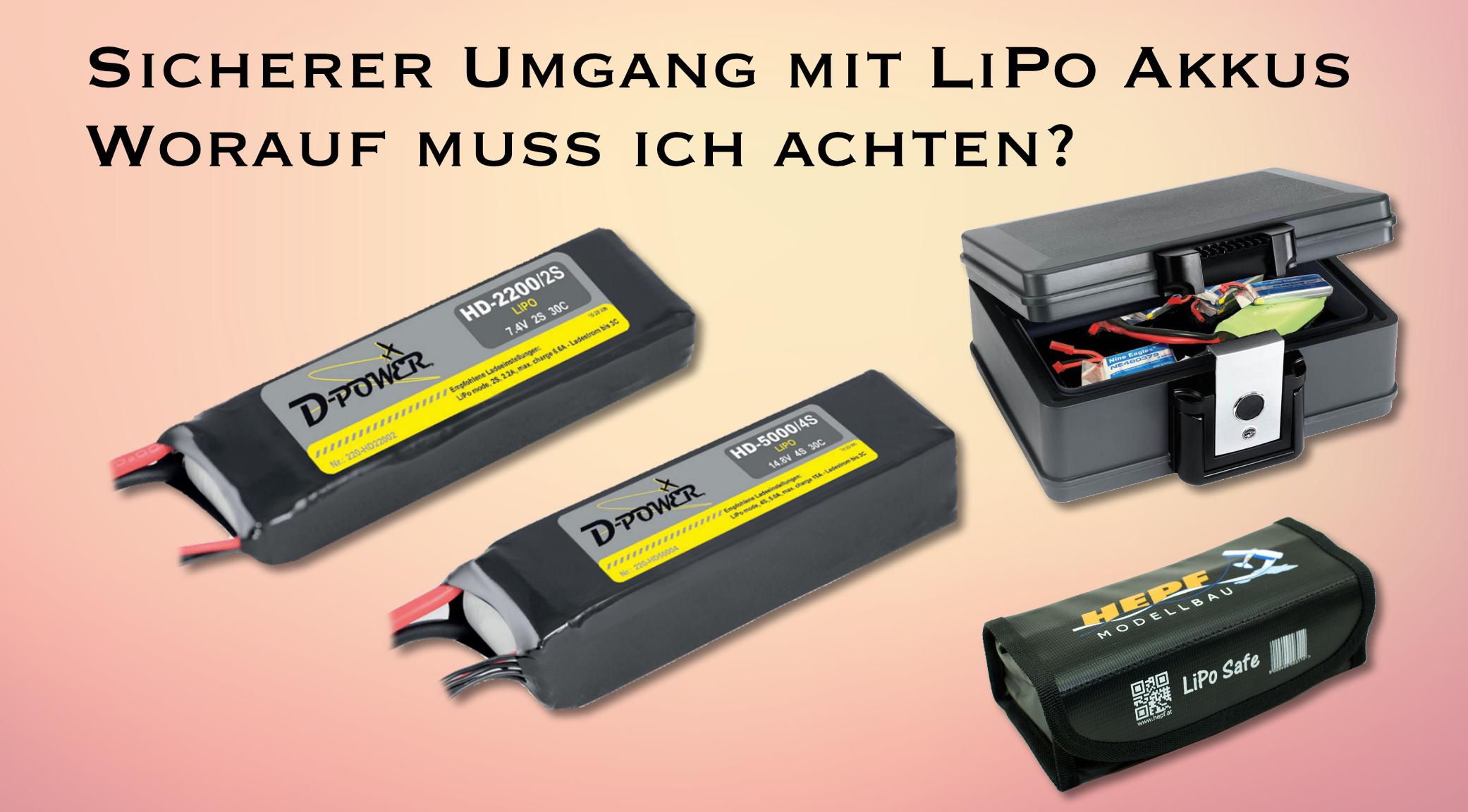 Ladegerät für LiPo Akkus bis 6S (Zellen) in 5110 Oberndorf
