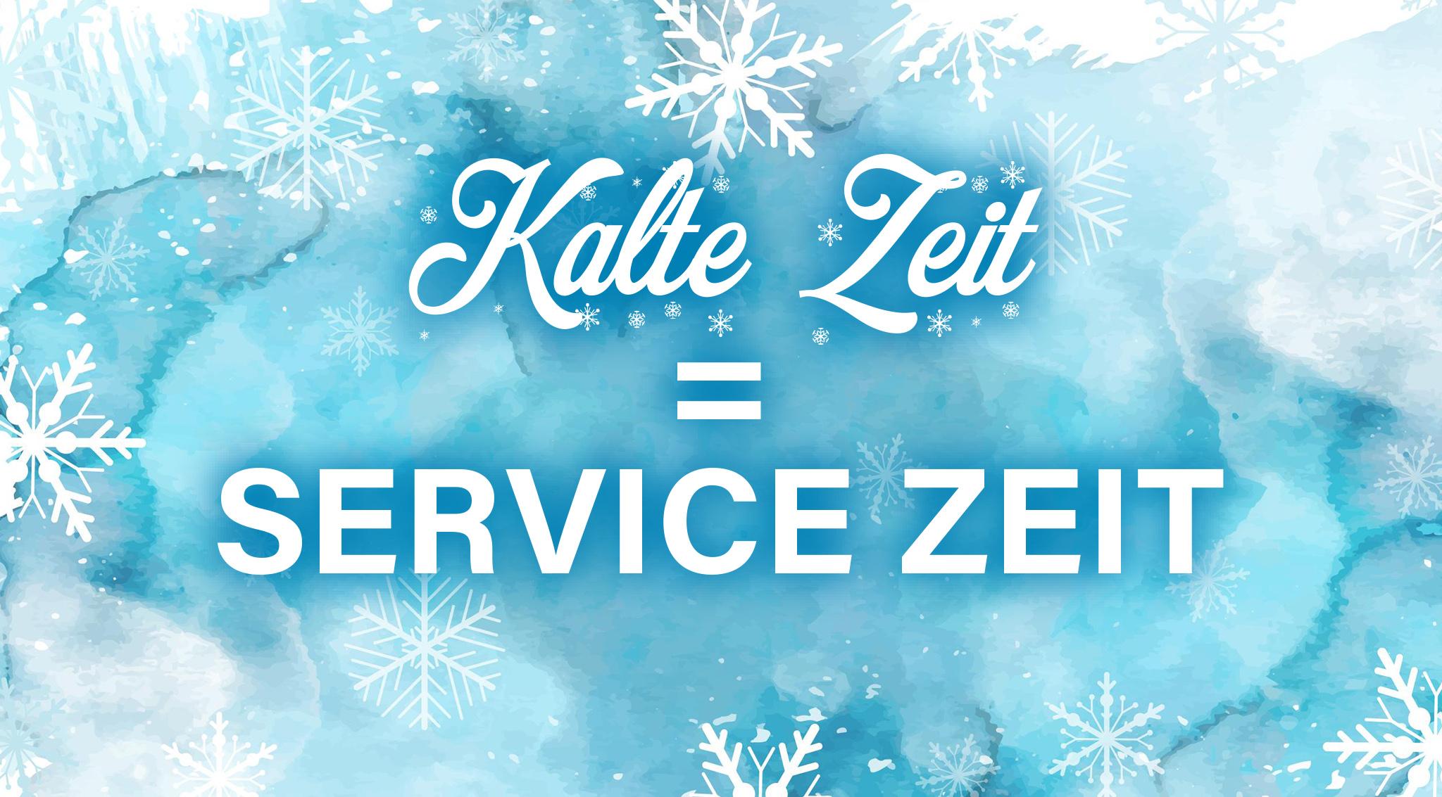 Kalte Zeit Service Zeit HEPF Modellbau
