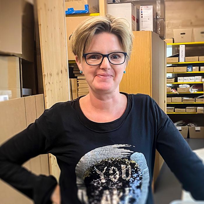 Sylvia Trockenbacher : Lager/Versand
